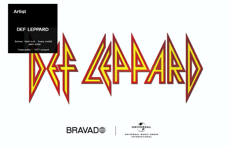 DEF LEPPARD PYROMANIA TOUR 1983 SS (BRENT2076)